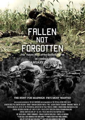 Fallen Not Forgotten 2018 (Philippines)