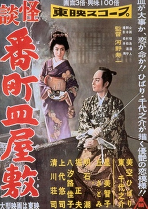 Ghost Story of Broken Dishes at Bancho Mansion 1957 (Japan)