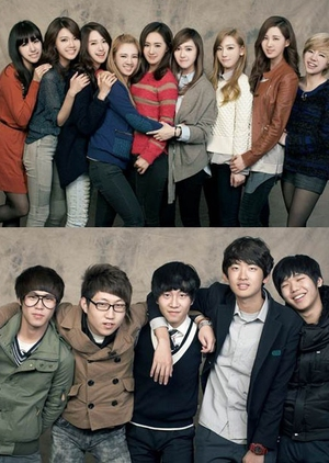 Girls' Generation and the Dangerous Boys 2011 (South Korea)