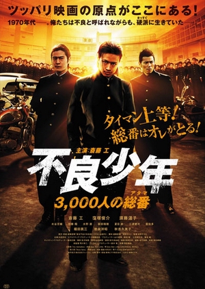 The Total Number of 3000 Juvenile Delinquents 2012 (Japan)